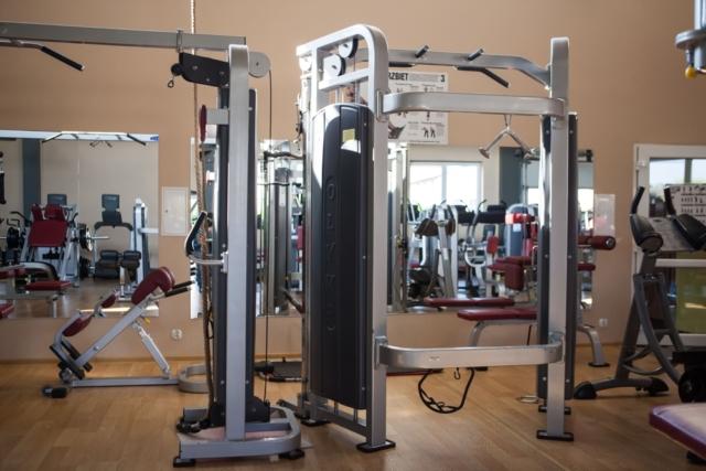 siłownia sala maszyn