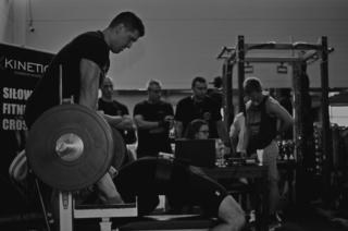 X-kinetic zawody na siłowni